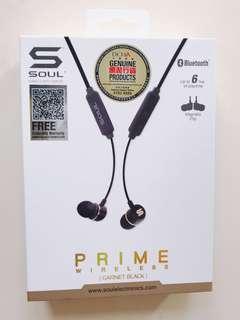 98%New🌟SOUL -Prime Wireless 藍芽運動耳機