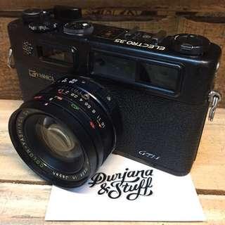 Yashica GTN Rangefinder Film Camera