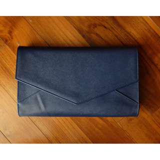 Envelope clutch Navy