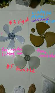 """16 """" fan blade diff prices diff material , fan knob blade cover"""