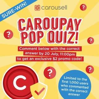 CarouPay Pop Quiz is back!