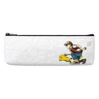 [PO] STATIONERY POUCH [RED & PIKACHU] - POKEMON CENTER EXCLUSIVE