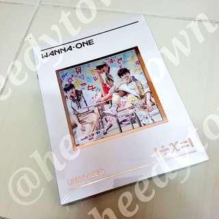 [READY STOCK] WANNA ONE - UNDIVIDED (TRIPLE POSITION Vers.)