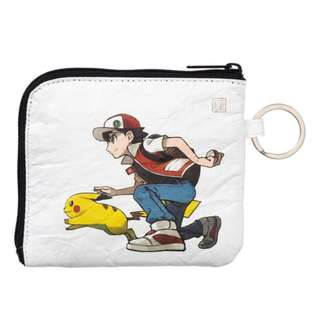[PO] PASS CASE [RED & PIKACHU] - POKEMON CENTER EXCLUSIVE