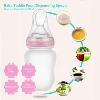 Baby Toddle Food Dispensing Spoon