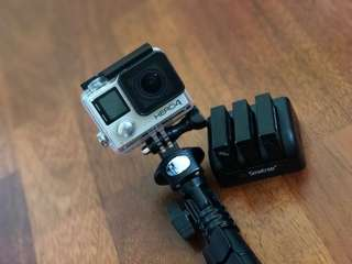 GoPro Hero 4 Silver + 3 Battery