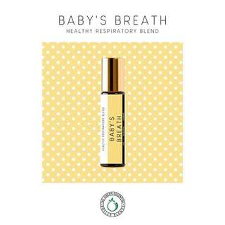 Baby's Breath Roller Blend 5mL (Healthy Respiratory Blend)