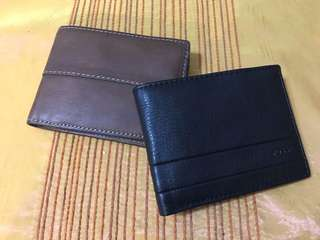 Fossil wallet trifold authentic