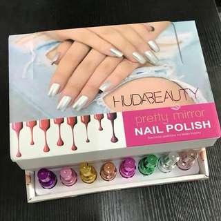 Huda beauty mirror nail polish  8ml