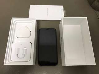 APPLE IPHONE X 256GB 黑色