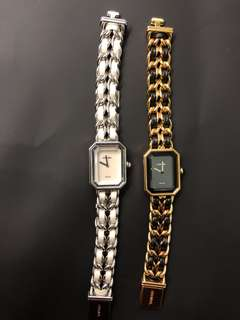 Chanel classic watch