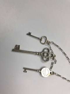 Tiffany & Co - key collection 吊咀 (silver)