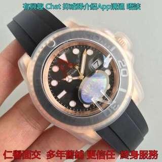 面交終身服務 Rolex Yacht Master 116655 玫瑰金 40mm 新款玫瑰金 Noob廠 V8新版