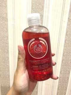 The Body Shop Strawberry Shower Gel 250ml 100% Original