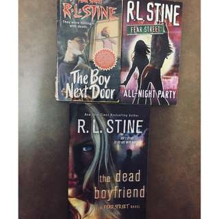 Fear Street series by R.L Stine