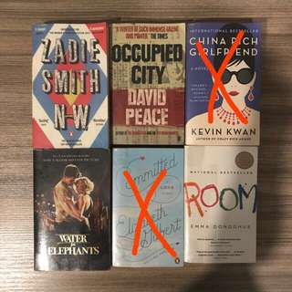 Preloved English Novels