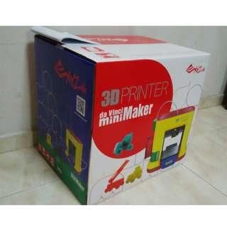 XYZprinting da Vinci miniMaker 3D Printer (Brand New)