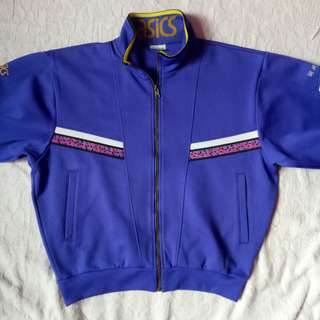 asics jaket olahraga