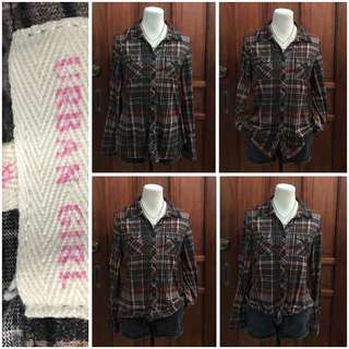 Plus size (L-xL) plaid blouse 200 pesos only!