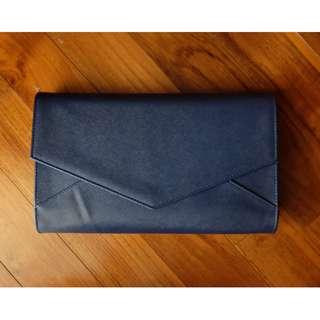Envelope clutch Navy