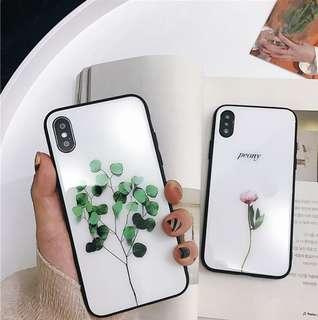 清新植物iPhone Case
