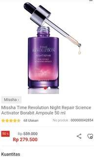 Missha time revolution night repair barobit ampoule