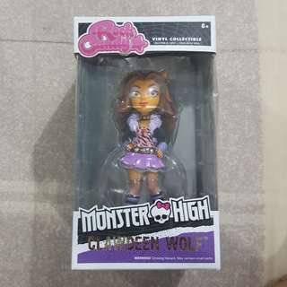 Legit Brand New With Box Funko Rock Candy Monster High Clawdeen Wolf Toy Figure