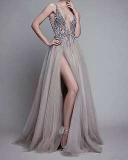 Dinner Dress Evening Gown for rent!