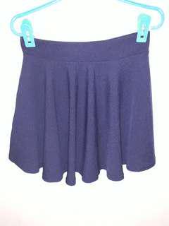 🚚 Naby blue skater skirt