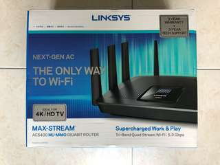 Linksys EA9500 (with 1.5 years warranty)