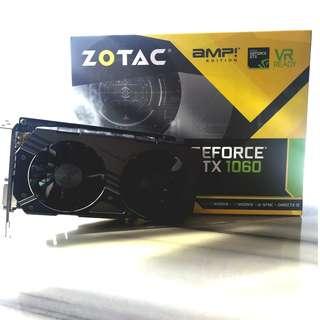 Zotac GTX 1060 AMP! 3GB
