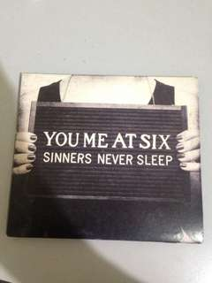 You Me At Six Sinners Never Sleep Album