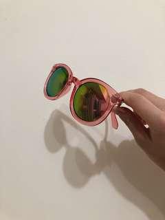 🚚 復古粉色太陽眼鏡