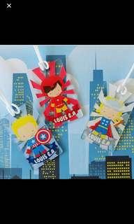 Custom bagtag - superhero