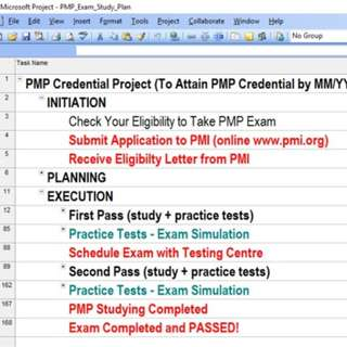 🚚 PMP Exam Preparation Plan