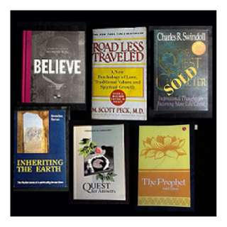 BOOK SELECTION: SPIRITUAL - Believe * Inheriting the Earth * Quest for Answers * The Prophet * The Road Unseen (Bestseller) + Free Word on the Street
