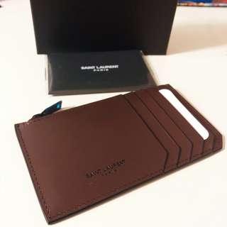 [減價] YSL Saint Laurent Leather Cardholder 真皮卡片套
