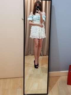 Korean lace skirt