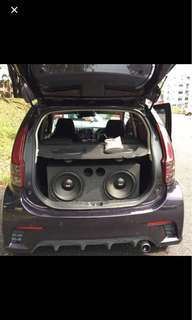 Dual Xplod 12'Subwoofer with Box
