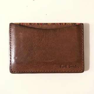 (減價)Paul Smith Cardholder 意大利小牛皮卡片套