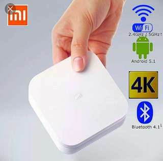 Android TV Box Xiaomi 4K 2/8GB