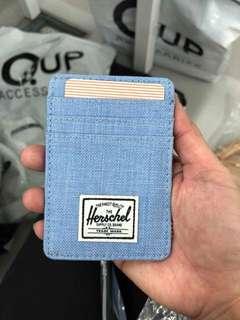 Herschel Raven Card Holder and Money Clip