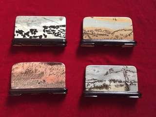 精緻天然石擺設[春, 夏,秋,冬]:如相片所示