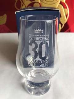 Whisky Tasting Glass, The Glencain Glass, Celebrating Hebridean Princess 30 Years