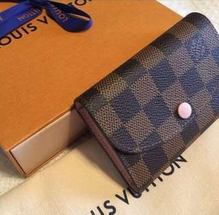 AUTHENTIC LV LOUIS VUITTON Damier Rosalie Coin Purse