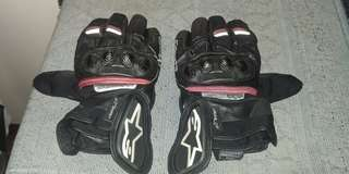 Alpinestar riding gloves