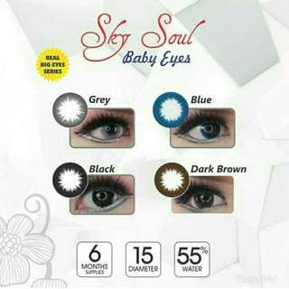 Softlens sky soul baby eyes