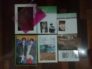 Got7 Flight Log : Arrival - Ever ver (KPOP Official mini Album)