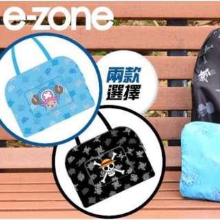 「ONE PIECE 摺疊購物旅行袋」e-zone