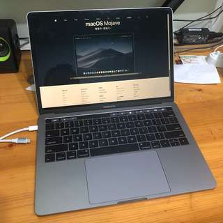 "Macbook Pro 2017 13"" 512GB 16GB"